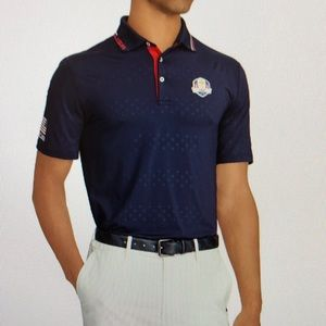 Rlx Ryder cup official Sunday active fit polo